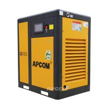 APCOM 2020 hot sale 22KW 30HP rotary screw air compressor yellow color