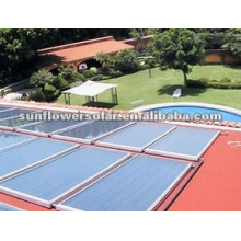 100KW Pressured Heat Pipe Solar System For Swimming Pool