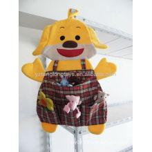 Lovely Kids Peluche Dog Toys Hanging Storage Pockets Organizer