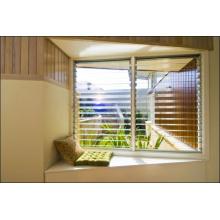 Vidro da porta interior, painéis de cerca decorativos, painel de vidro / persianas de vidro