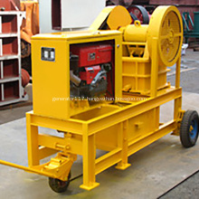 Diesel Jaw Crusher With Small Jaw Stone Crusher