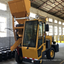 LT mobile self loading concrete mixer