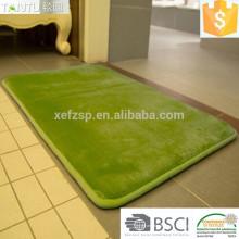 Esteira de banho de espuma de memória de microfibra absorvente