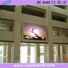 Pantalla de visualización al aire libre del montaje de pared P10 SMD3535 para hacer publicidad