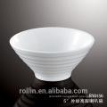 2016 new style high quality ceramic white bowl