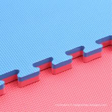 Plancher d'arts martiaux - tapis de puzzle de modèle de T de Kendo de gymnase de T