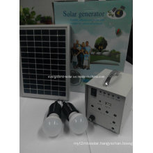 Portable Mini Solar Panel Home System Lighting