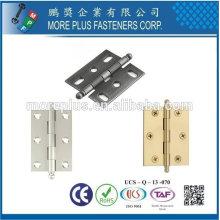 Taiwan acier en acier inoxydable accessoires accessoires charnière armoire