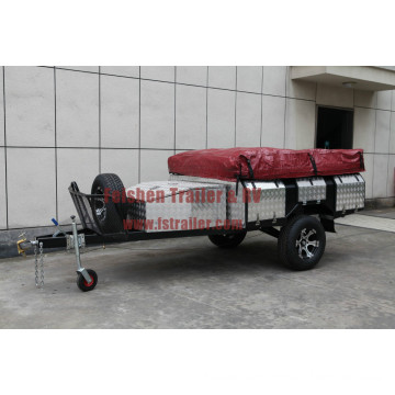 New design Soft floor camper trailer SF74T