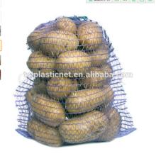 50 * 80cm Raschel Mesh Bag para embalar frutas, laranja, lenha, cebola, batatas
