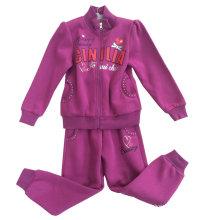 Hoodies da camisola do terno da trilha da forma do lazer na roupa das crianças para o desgaste Swg-125 do esporte