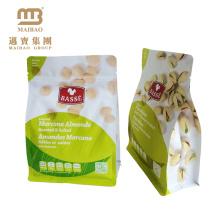 O logotipo feito sob encomenda do baixo custo imprimiu o saco de empacotamento pequeno laminado da porca da folha de alumínio do produto comestível com entalhe do rasgo