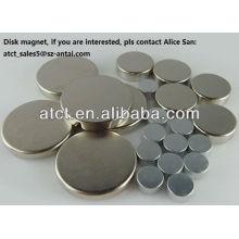 Imanes de disco para la comunicación de microondas