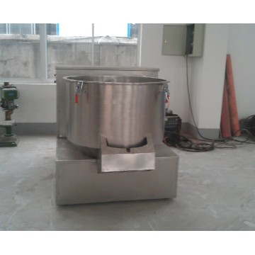 Intermediate boiling granulation drying machine