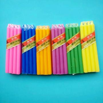 Hotsale 100% Paraffin Wax Stick Lilin berwarna