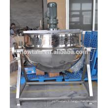Processus alimentaire bouchon en acier inoxydable bouilloire pour sauce tomate Qualité Assurée