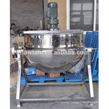 food process stainless steel jacket kettle for tomato sauce                                                     Quality Assured