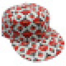 Bonnet de baseball en tissu floral avec Snapback Sb1581