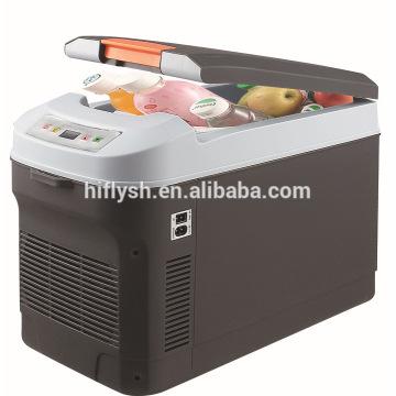 HF-22L (103) DC 12 V / AC 220 V 55 W carro refrigerador refrigerador de carro caixa de refrigeração mini refrigerador do carro portátil (certificado do CE)