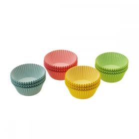 Rainbow Colored Disposable Baking Paper Cups