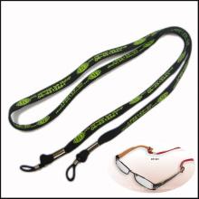 Cordones estrechos / tubulares del cuello del poliéster de la tela del poliéster 10m m para el tenedor de la lente