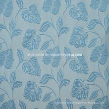 Tissu de rideau de motifs jacquard de haute qualité de haute qualité