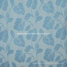 Nova High Grade Jacquard Flower Pattern cortina tecido