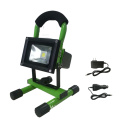 Aluminum outdoor rechargeable led flood light