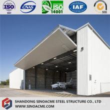 Professionelle Hersteller Stahlstruktur Flugzeug Hangar
