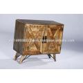 Industrial Vintage Reclaimed Natural Wooden Cabinet