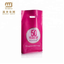2016 China Best Selling Punch Hole Handle Custom Plastic Gift Bag for Shopping