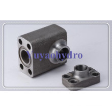 Weld Flange Block with 61 62 Code Flanges