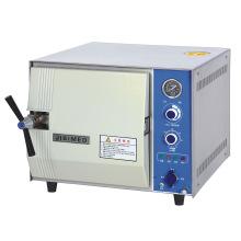 Analoge Typ 20L / 24L Krankenhaus Tabletop Dampfsterilisator
