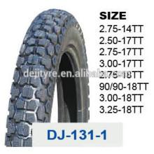 Modèle de bon de pneu de moto hors route DJ-131-1