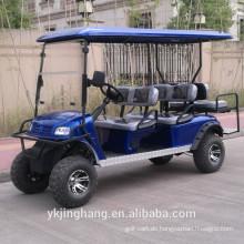 Gasbetriebener Golfwagen für 8 Personen, heiß zum Verkauf