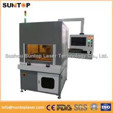 Sistema de marcação a laser de fibra de 20W de grande formato / Máquina automática de marcação a laser