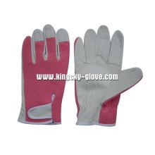 Pig Grain Leather Mechanic Gardening Glove-7310