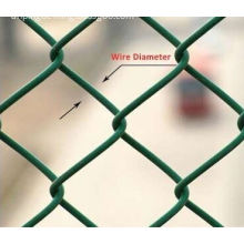 Pvc Coated Chain Link Fence For Baseball fields