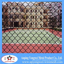 YW-PVC Coated Security Wire Mesh Chain Link Fence