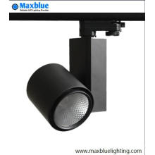 High CRI 95ra Usado en la tienda COB LED Track Lighting