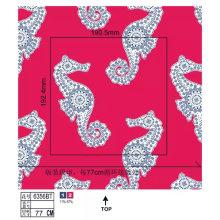 Tela de nylon do roupa de banho das mulheres com impressão