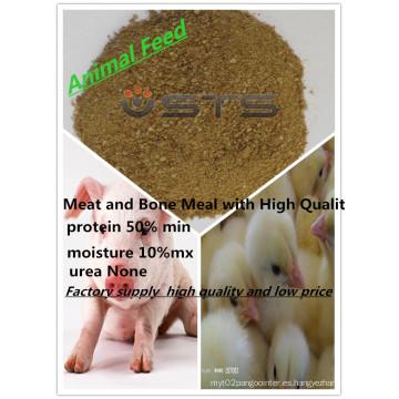 Alimentos para animales harina de carne y hueso-grado de la alimentación