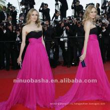 Линия Multi Цвет Суд Поезд Дайан Крюгер Милая Длинные Красный Ковер Знаменитости Платье Вечернее Платье