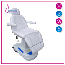 Electric treatment chair facial bed