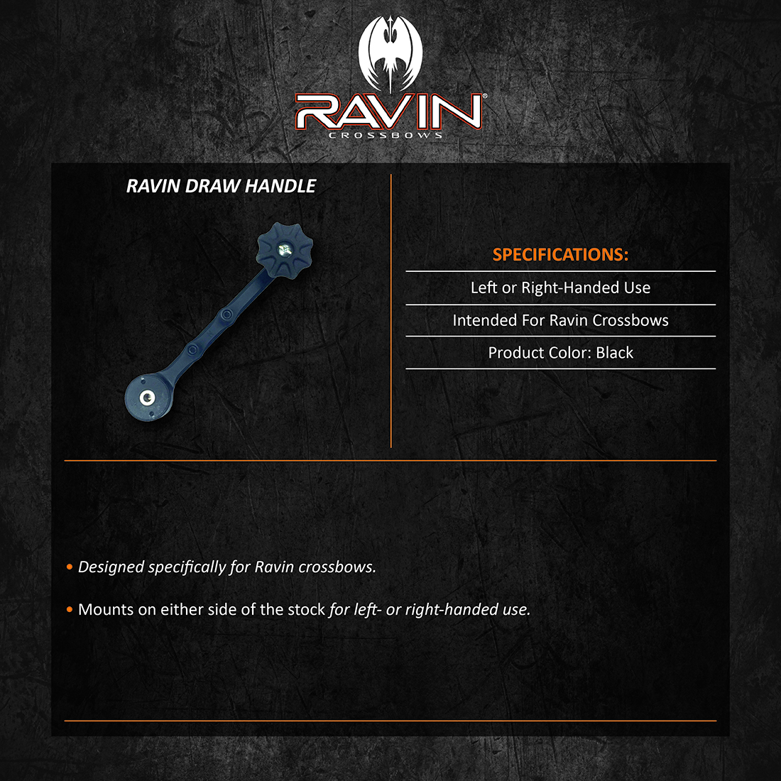Ravin_Draw_Handle_Product_Description