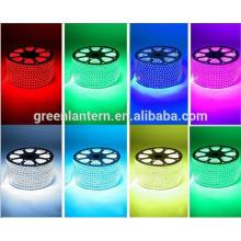 Led flex strip light 5050 110V 220V 60led 90led 120led 144led Warm White/White/Red/Green/Blue led strip with CE RoHS