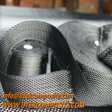 Fita de pano de tecelagem de carbono simples para mastros e espátulas