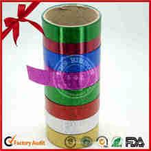 Metallic Curly Ribbon für Hochzeitsdekoration