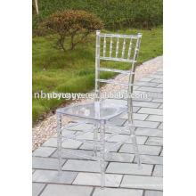 Chaise en résine plexiglass plexi tiffany