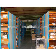 Movimentação do filo do armário, armazenamento de arquivo na plataforma de revestimento de cremalheira